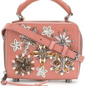 REBECCA MINKOFF Jewel-Studded Box Crossbody Bag